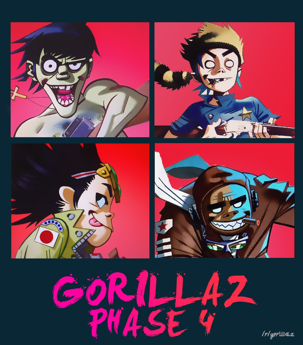 gorillaz-phase-four-demos