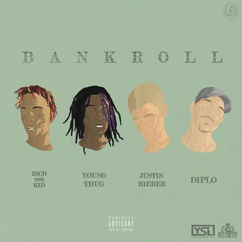 Young Thug & Justin Bieber & Rich The Kid & Diplo – Bank Roll