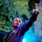 A$AP Rocky презентовал новый трек прямо на концерте