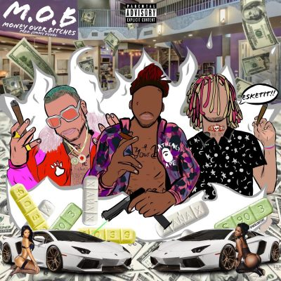 LIL PUMP & RiFF RAFF & Splash Zanotti - M.O.B. (Money Over Bitches)