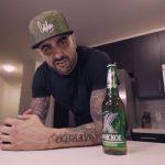 Dizaster снялся в рекламе пива «Клинское»