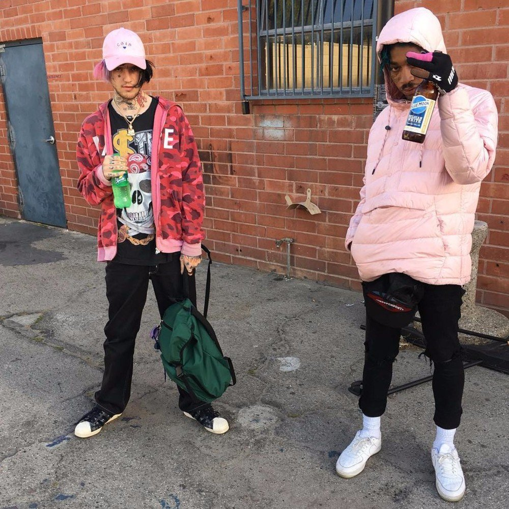 Lil Peep & Lil Tracy – Ratchet Bitches Cocaina