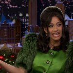 Cardi B на шоу «Jimmy Fallon!» (Русский язык)