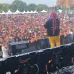 Fat Nick почил память Lil Peep на одном из фестивалей