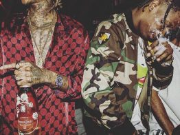 Travi$ Scott & Wiz Khalifa – Trippin'