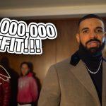 Drake и его команда показывают наряд на миллион долларов